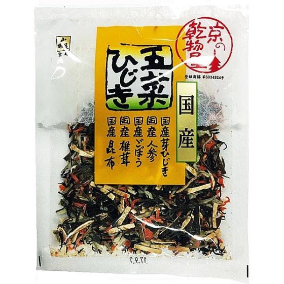 山城屋 国産 五菜ひじき 30g