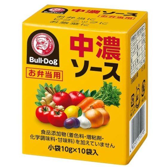 ブルドックお弁当用ソース中濃  10gx10