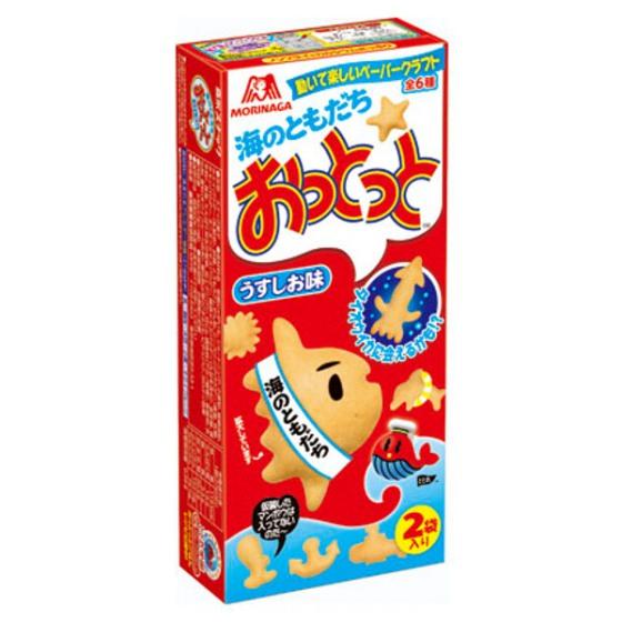 森永製菓  おっとっとうすしお味 52g