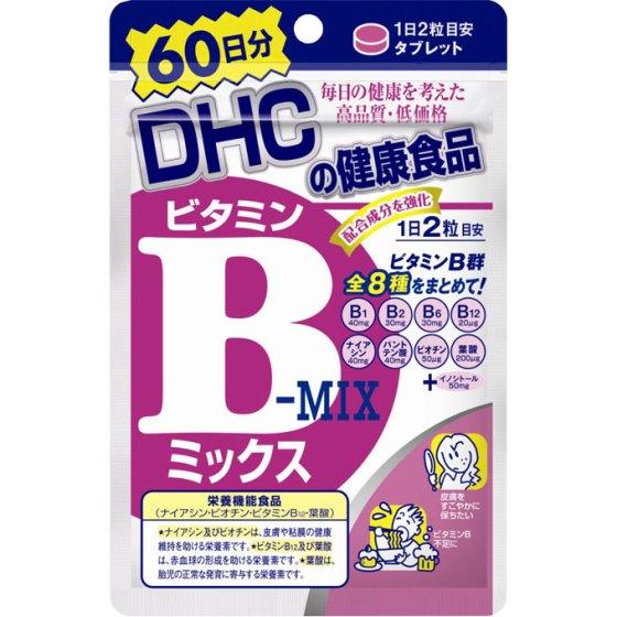 DHC 60日 ビタミンBミックス 120粒
