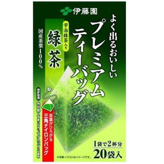 プレミアムティーバッグ緑茶 1.8gx2