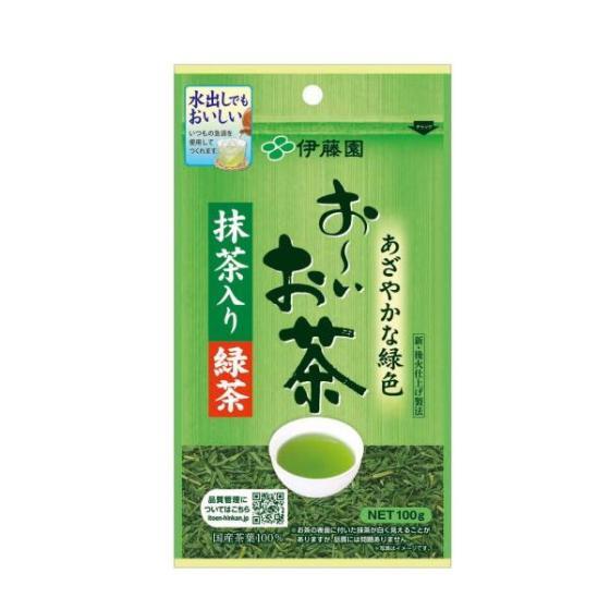 伊藤園 おーいお茶 抹茶入緑茶 100g