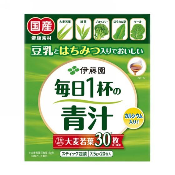 伊藤園 毎日1杯の青汁 有糖タイプ 7.5g×20包入