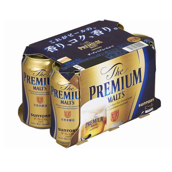 サントリー プレミアムモルツ 350x6缶