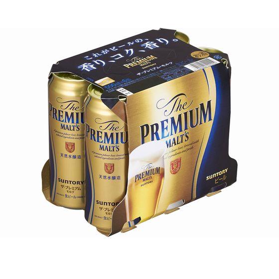 サントリー プレミアムモルツ 500x6缶