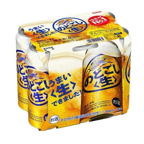 キリン のどごし<生> 500x6缶
