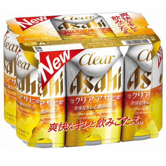 クリア アサヒ 350x6缶