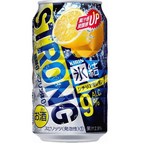 キリン 氷結ストロング レモン 350缶