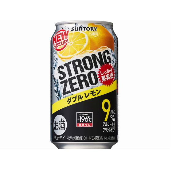 サントリー -196℃ ストロングゼロ ダブルレモン 350缶