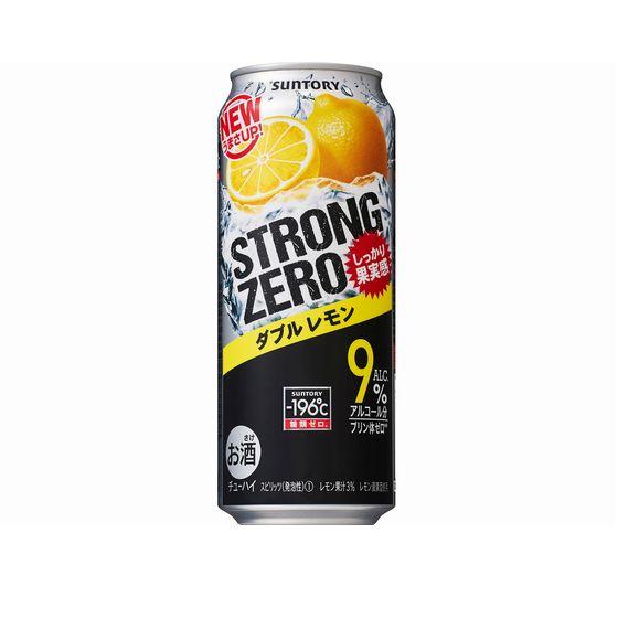 サントリー -196℃ ストロングゼロ ダブルレモン 500缶
