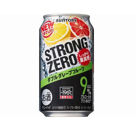 サントリー -196℃ ストロングゼロ ダブルグレープフルーツ 350缶