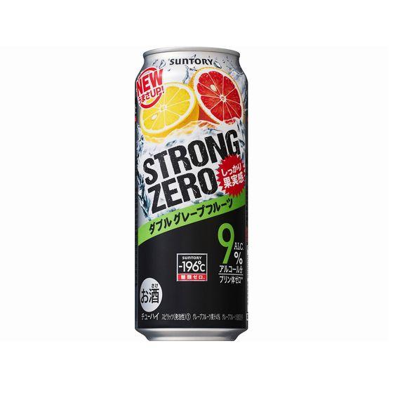 サントリー -196℃ ストロングゼロ ダブルグレープフルーツ 500缶