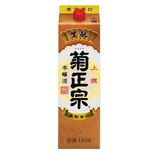 上撰 菊正宗 本醸造・さけパック 1800ml