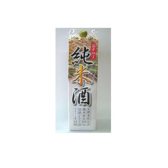 葵中納言 純米酒 パック  2000ml