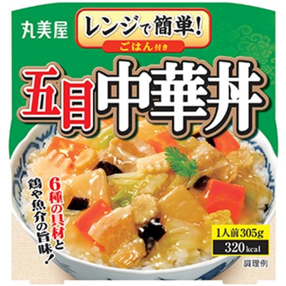 丸美屋五目中華丼ごはんつき 305g