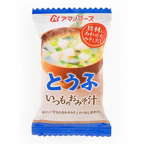 アマノフーズ いつものおみそ汁とうふ 10g