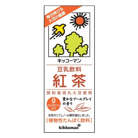 キッコーマン 豆乳紅茶 200ml