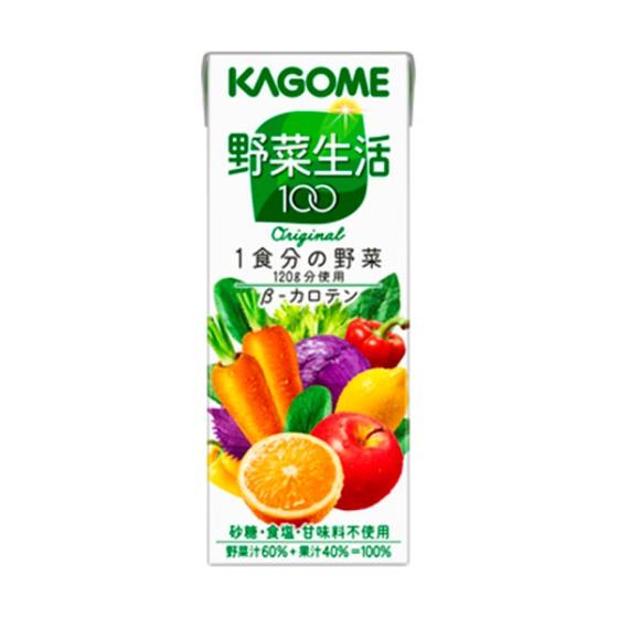 カゴメ 野菜生活100オリジナル 200ml