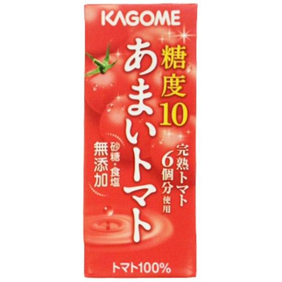 カゴメ あまいトマト 200ml
