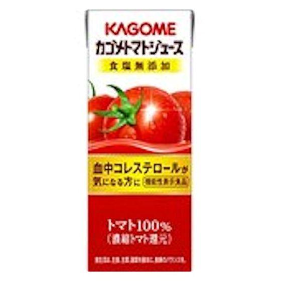 カゴメ トマトジュース食塩無添加 200ml