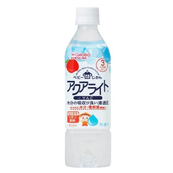 【3ヶ月頃~】 和光堂 アクアライトりんご  500ml
