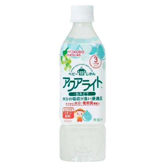 【3ヶ月頃~】 和光堂 アクアライト白ぶどう  500ml