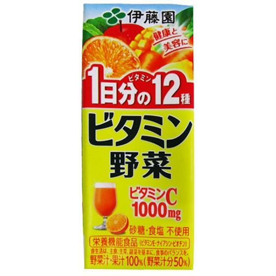 伊藤園 ビタミン野菜 200ml