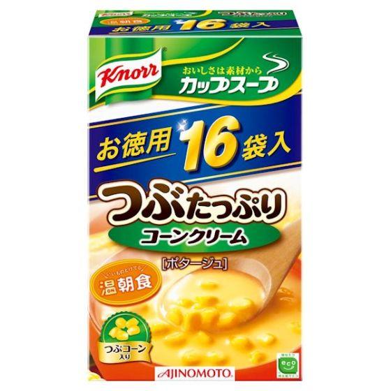 クノール カップスープ つぶコーン 16袋入