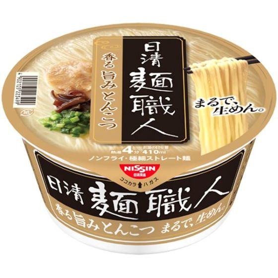 日清食品 日清麺職人とんこつ 81g