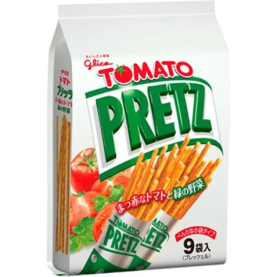 グリコ トマトプリッツ(袋)9袋入