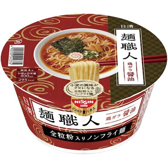日清食品 日清麺職人 しょうゆ 89g