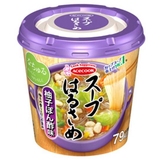 エース スープ はるさめ柚子ぽん酢味 32g