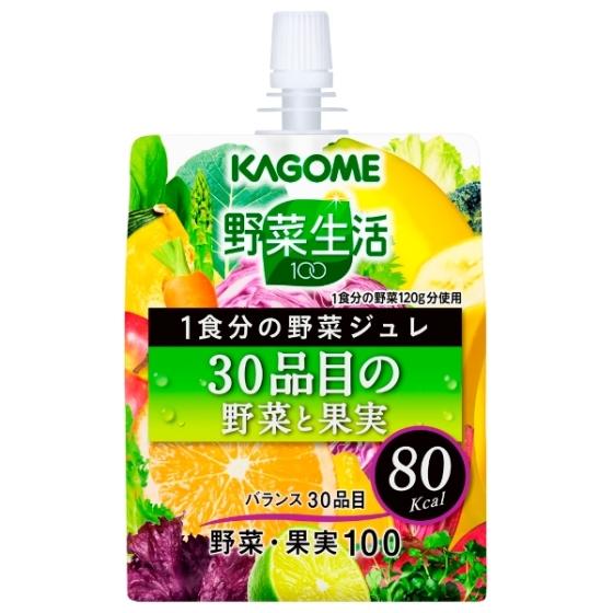 カゴメ  野菜生活ジュレ30品目 180g