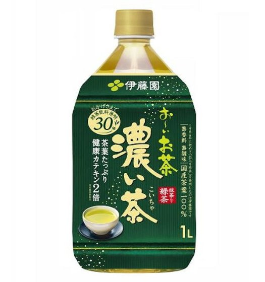 伊藤園 おーいお茶濃い茶 1L