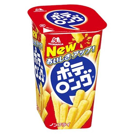 森永製菓 ポテロング(しお味) 45g