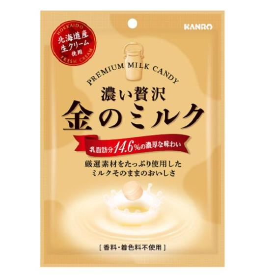 カンロ 金のミルクキャンディ 80g