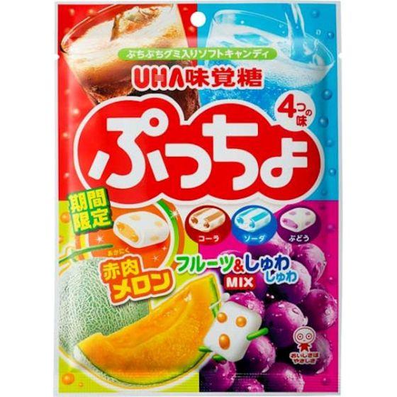 味覚糖 ぷっちょ 4種アソート(袋) 98g