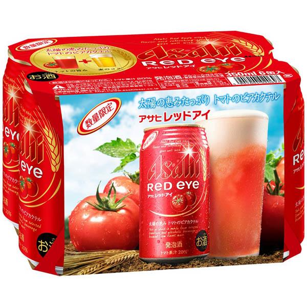 アサヒ レッドアイ 350x6缶