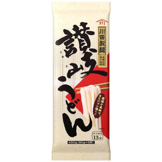 日清フーズ 川田製麺 讃岐うどん 450g