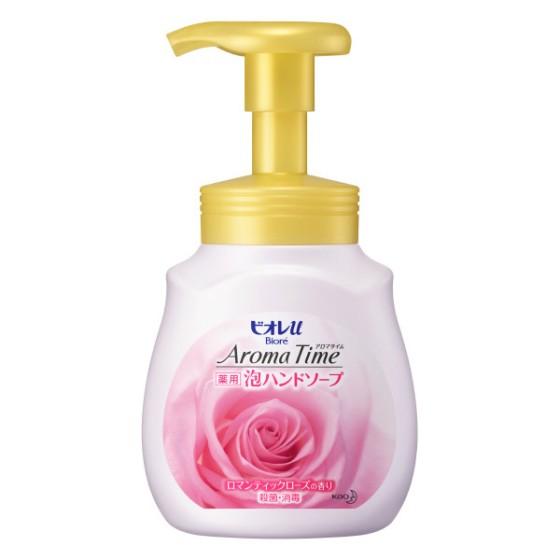 ビオレu アロマタイム 泡ハンドソープ ロマンティックローズの香り ポンプ 230ml