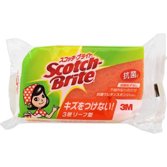 Scotch-brite(スコッチ・ブライト)抗菌ウレタンスポンジたわし