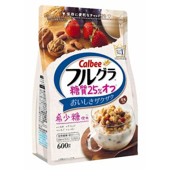 カルビー フルグラ 糖質25%オフ 600g