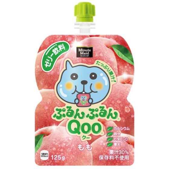 コカ・コーラ ぷるんぷるんQoo ピーチ味 125g