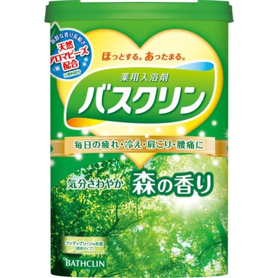 バスクリン バスクリン 森の香り 600g