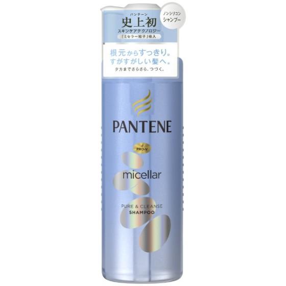 パンテーン ミセラーシリーズ ピュア&クレンズ シャンプー ポンプ 500ml