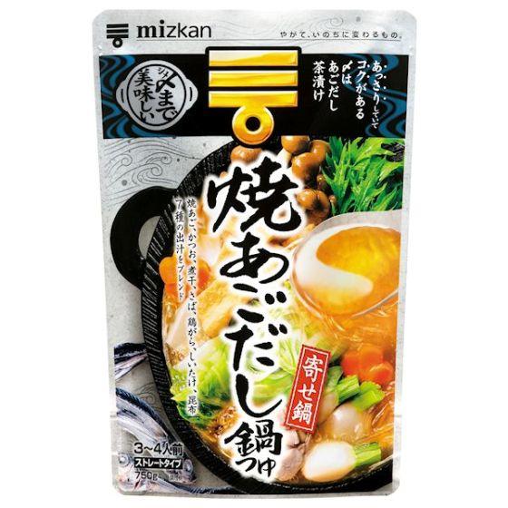 ミツカン 〆まで美味しい 焼きあごだし鍋つゆ 750g