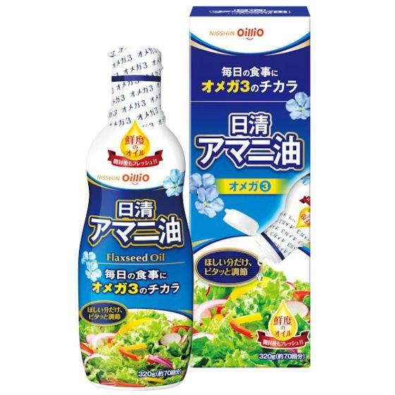 日清オイリオ アマニ油 320g