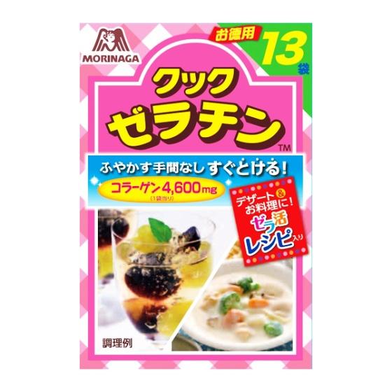 森永製菓 クックゼラチン(13袋入)65g