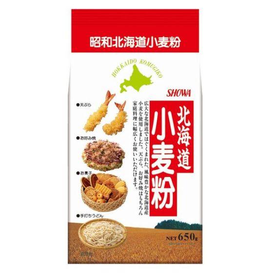 昭和産業 北海道産小麦粉 650g