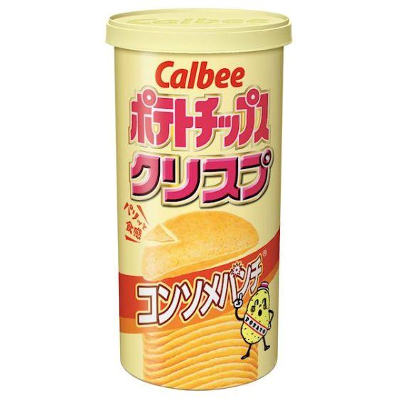 カルビー ポテトチップスクリスプ コンソメパンチ 50g